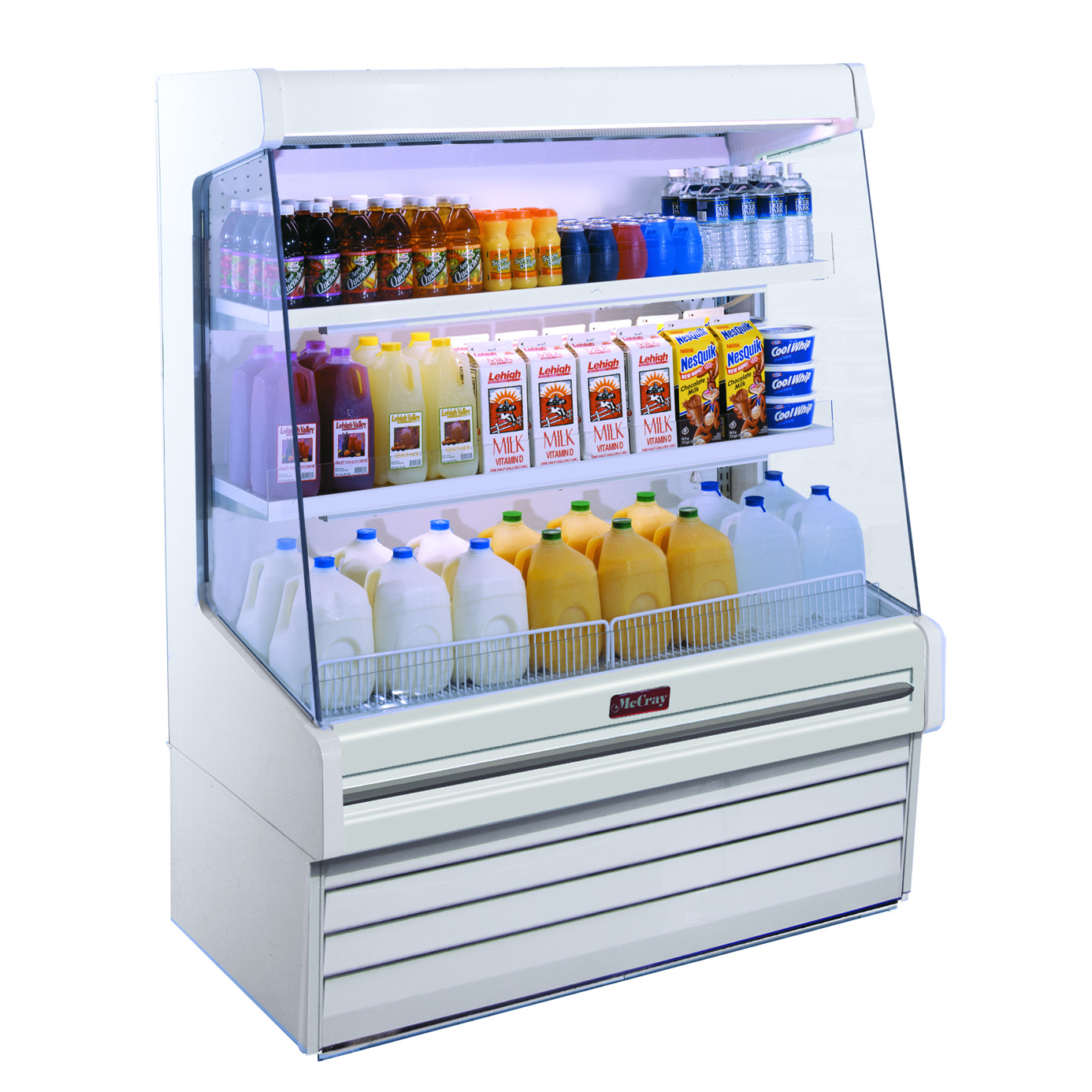 Howard-McCray SC-OD30E-4L-LED merchandiser, open refrigerated display