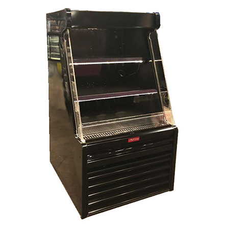 Howard-McCray SC-OD35E-33L-B-LED merchandiser, open refrigerated display