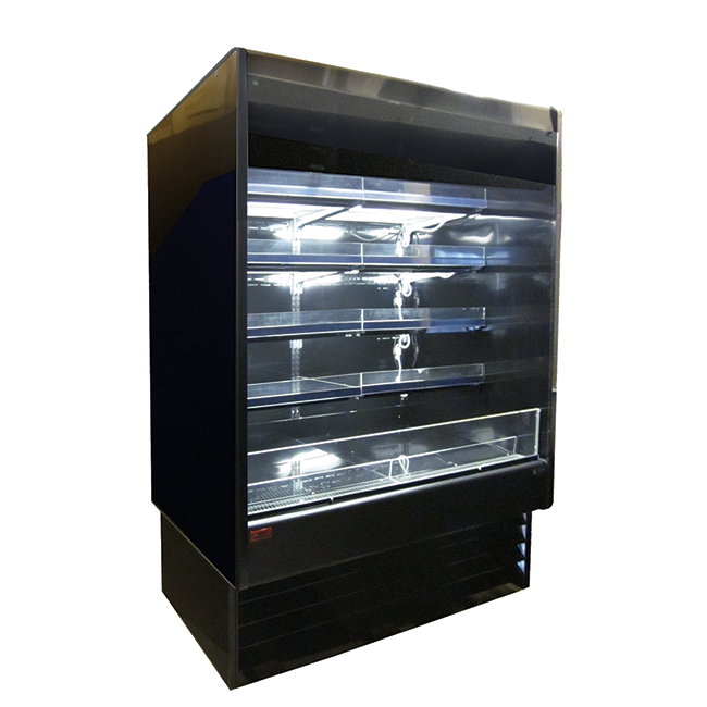 Howard-McCray SC-OD35E-48-B-LED merchandiser, open refrigerated display