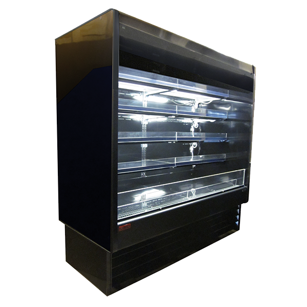 Howard-McCray SC-OD35E-4-B-LED merchandiser, open refrigerated display