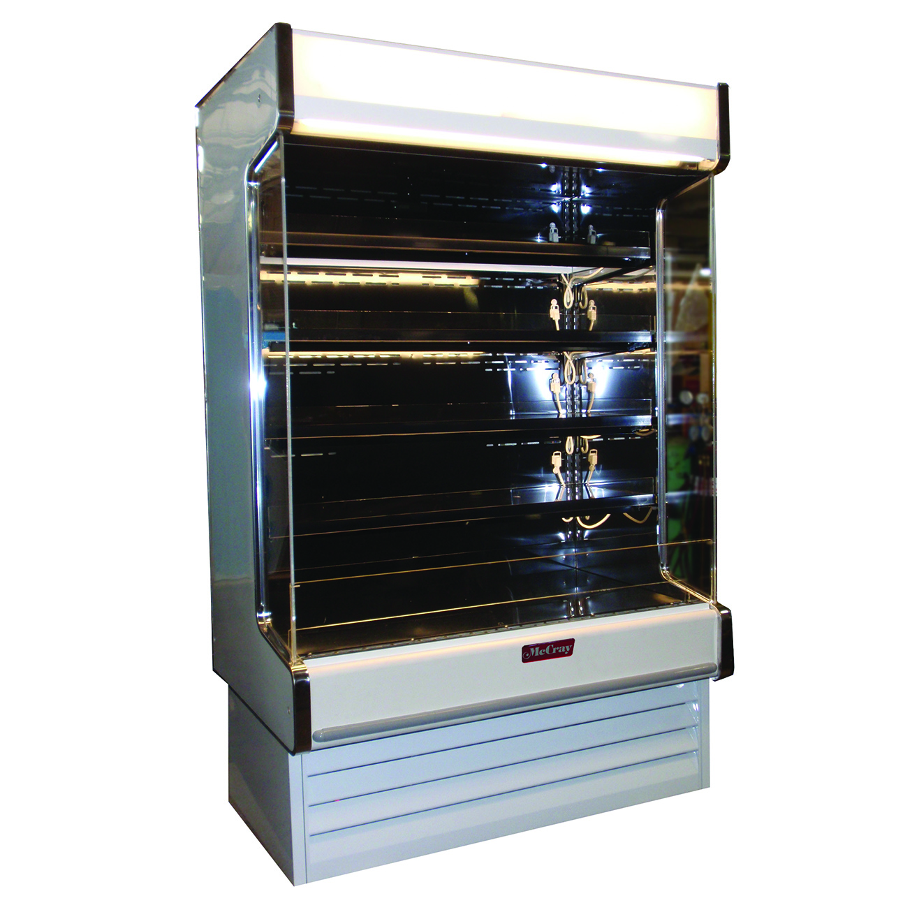 Howard-McCray SC-OD35E-4-B-LED-LC merchandiser, open refrigerated display