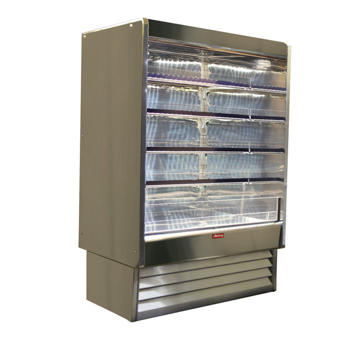 Howard-McCray SC-OD35E-5-LED merchandiser, open refrigerated display