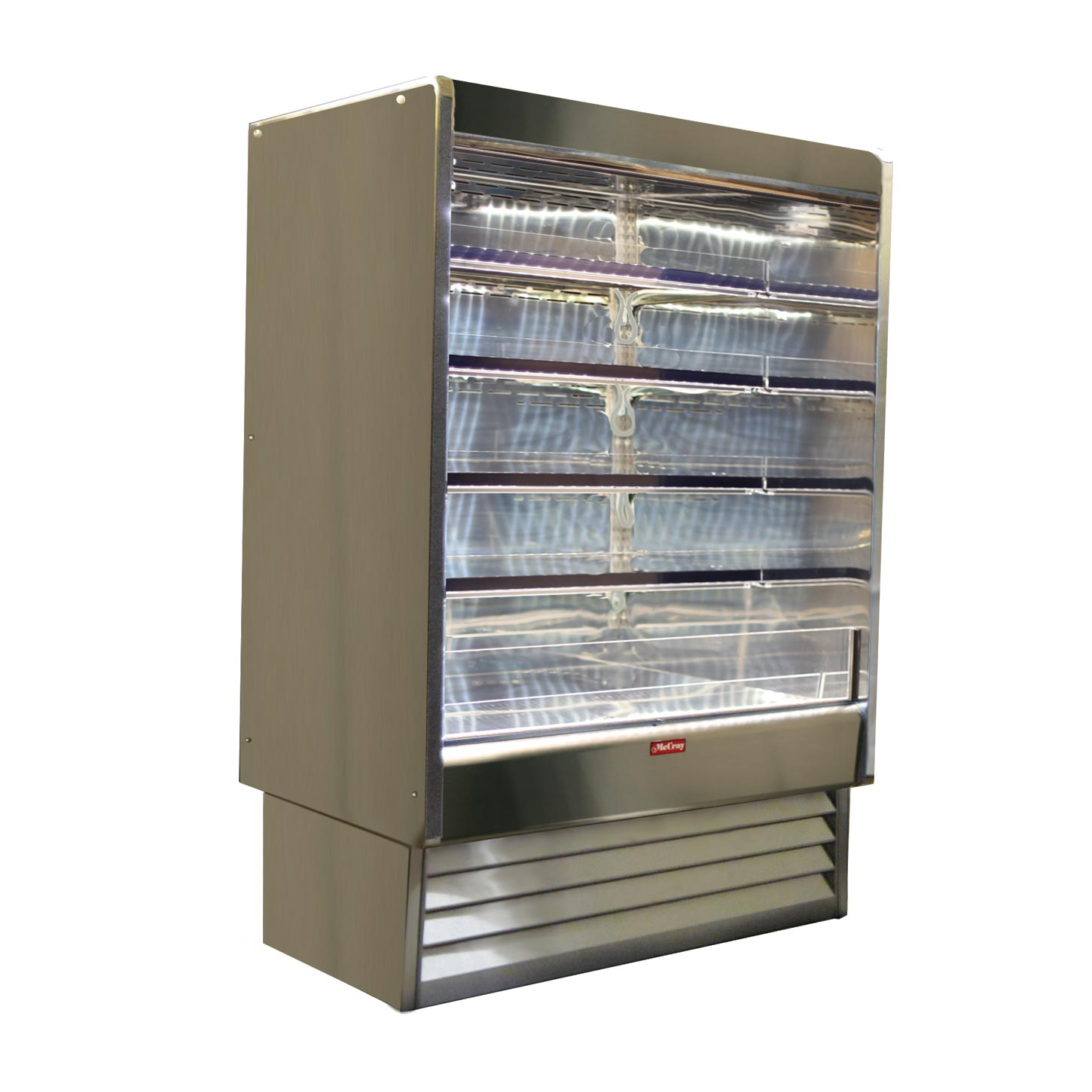Howard-McCray SC-OD35E-5-S-LED merchandiser, open refrigerated display