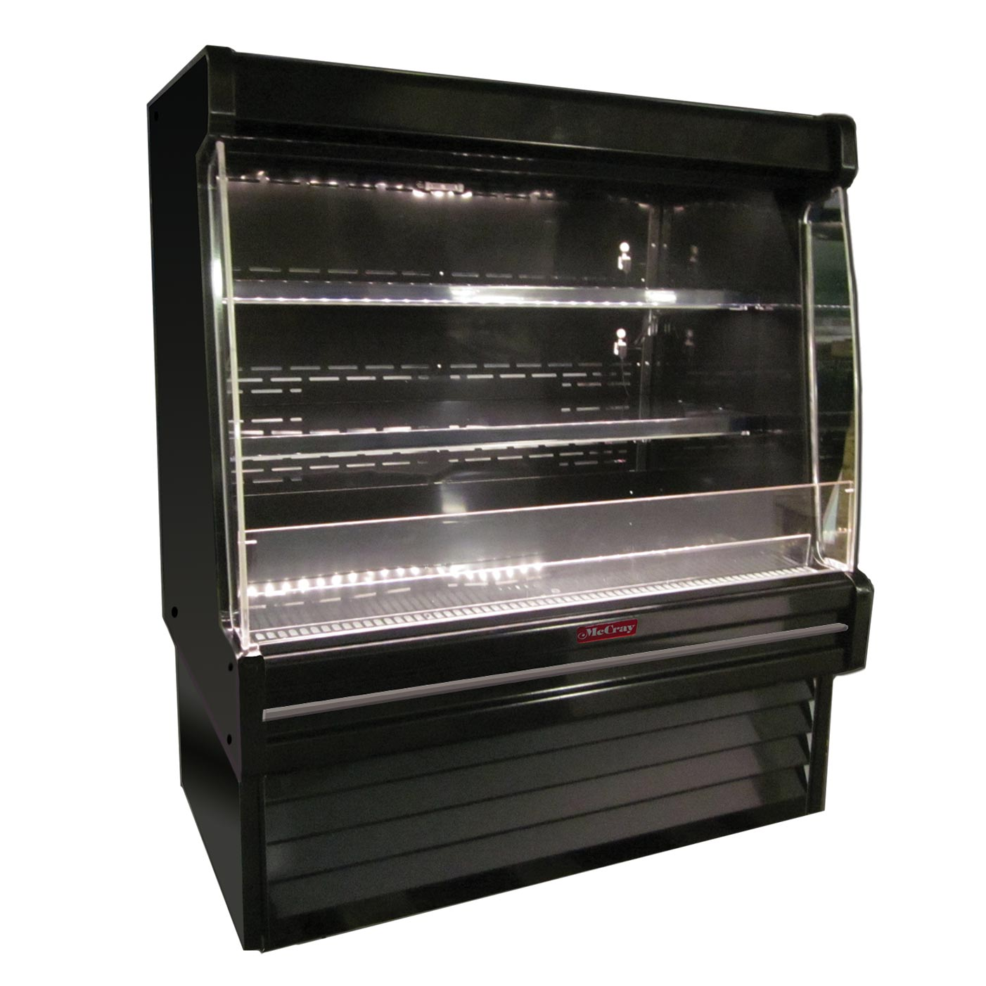 Howard-McCray SC-OD35E-6L-B-LED merchandiser, open refrigerated display