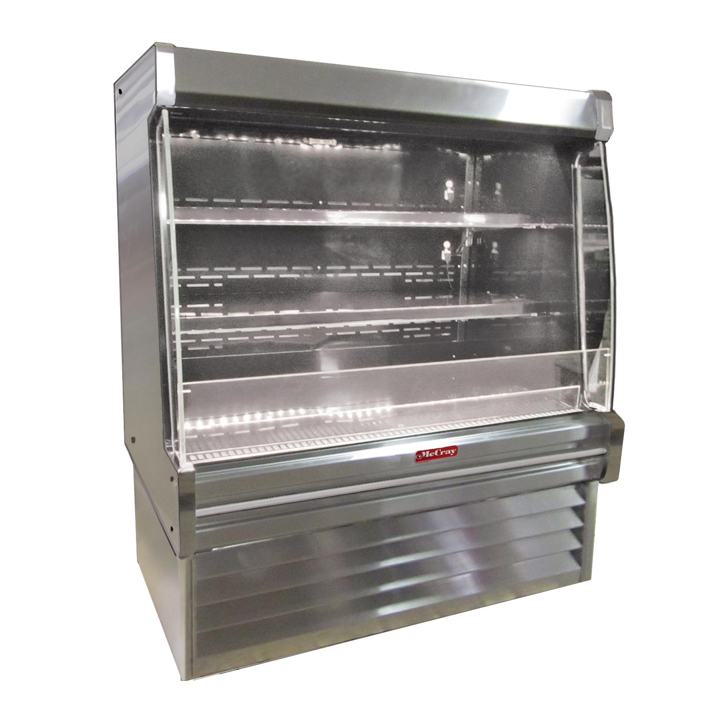 Howard-McCray SC-OD35E-6L-S-LED merchandiser, open refrigerated display