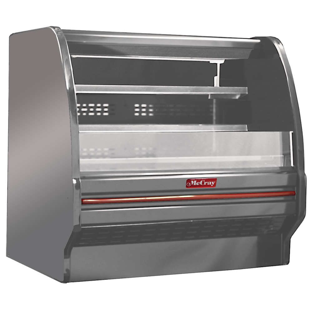 Howard-McCray SC-OD40E-6L-S-LED merchandiser, open refrigerated display