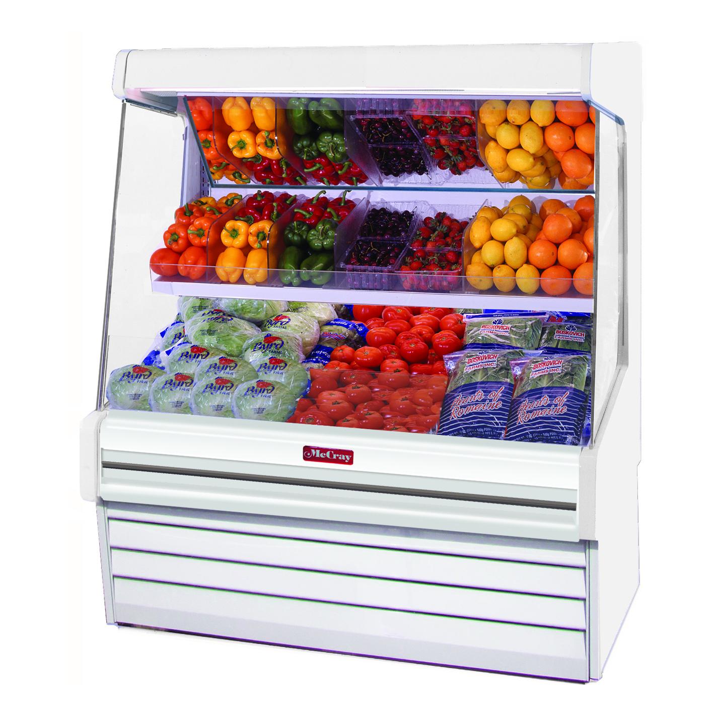Howard-McCray SC-OM30E-4L-S-LED merchandiser, open refrigerated display