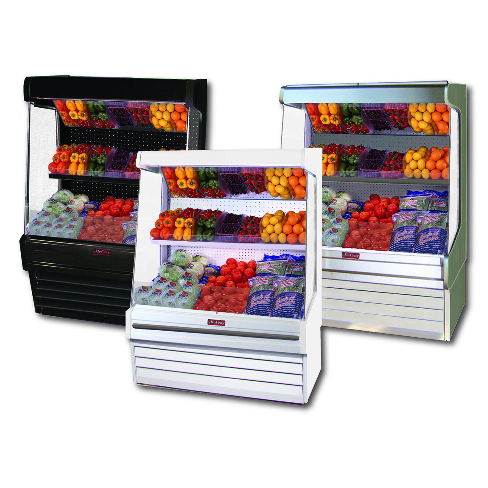 Howard-McCray SC-OP30E-5-B-LED display case, produce