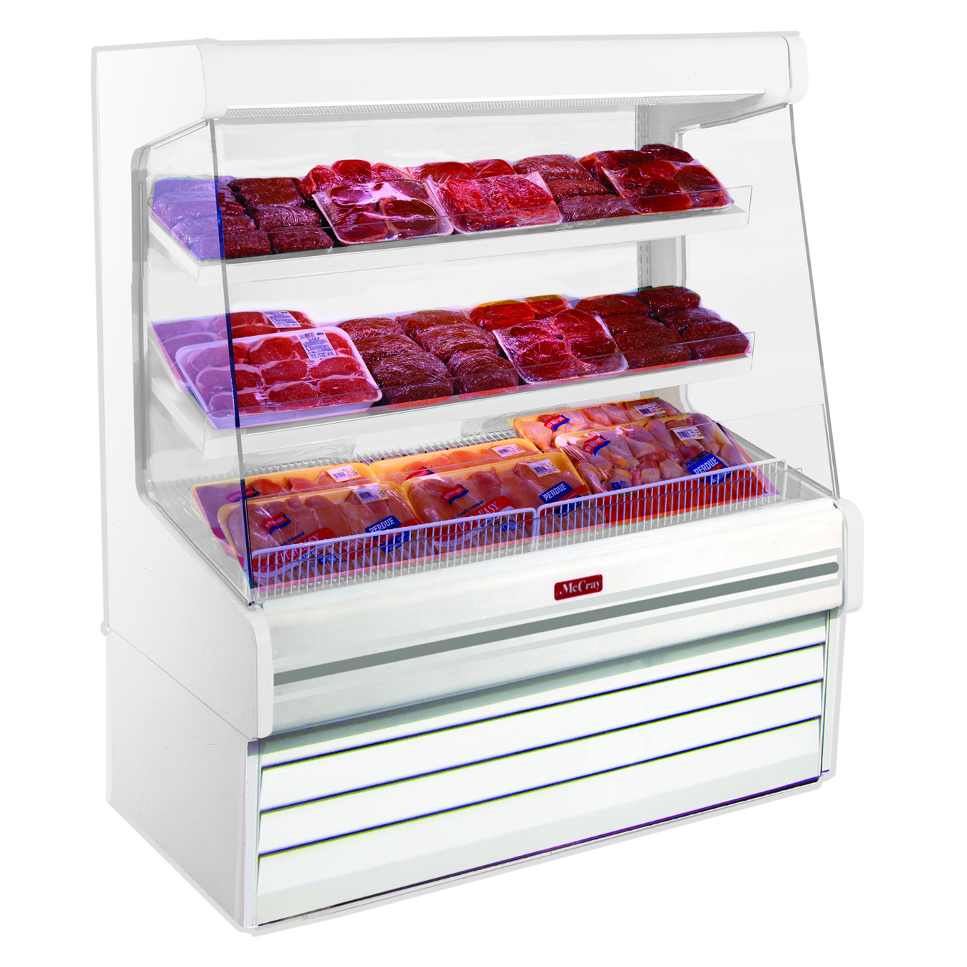 Howard-McCray SC-OP30E-6L-LED display case, produce