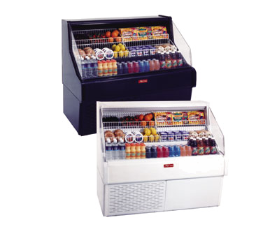 Howard-McCray SC-OS30E-3C-B-LED merchandiser, open refrigerated display