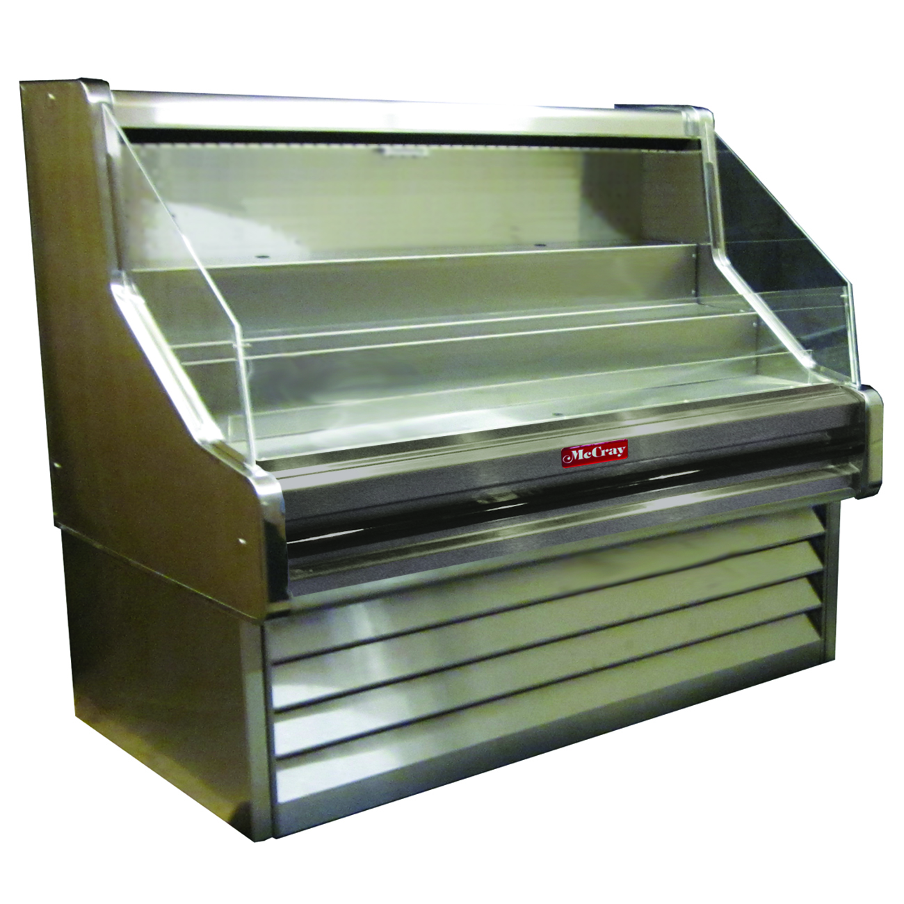 Howard-McCray SC-OS30E-3-S-LED merchandiser, open refrigerated display