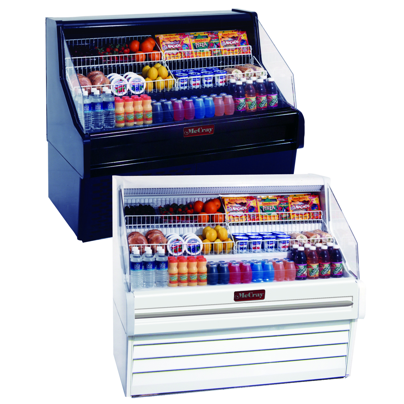 Howard-McCray SC-OS30E-5-LED merchandiser, open refrigerated display