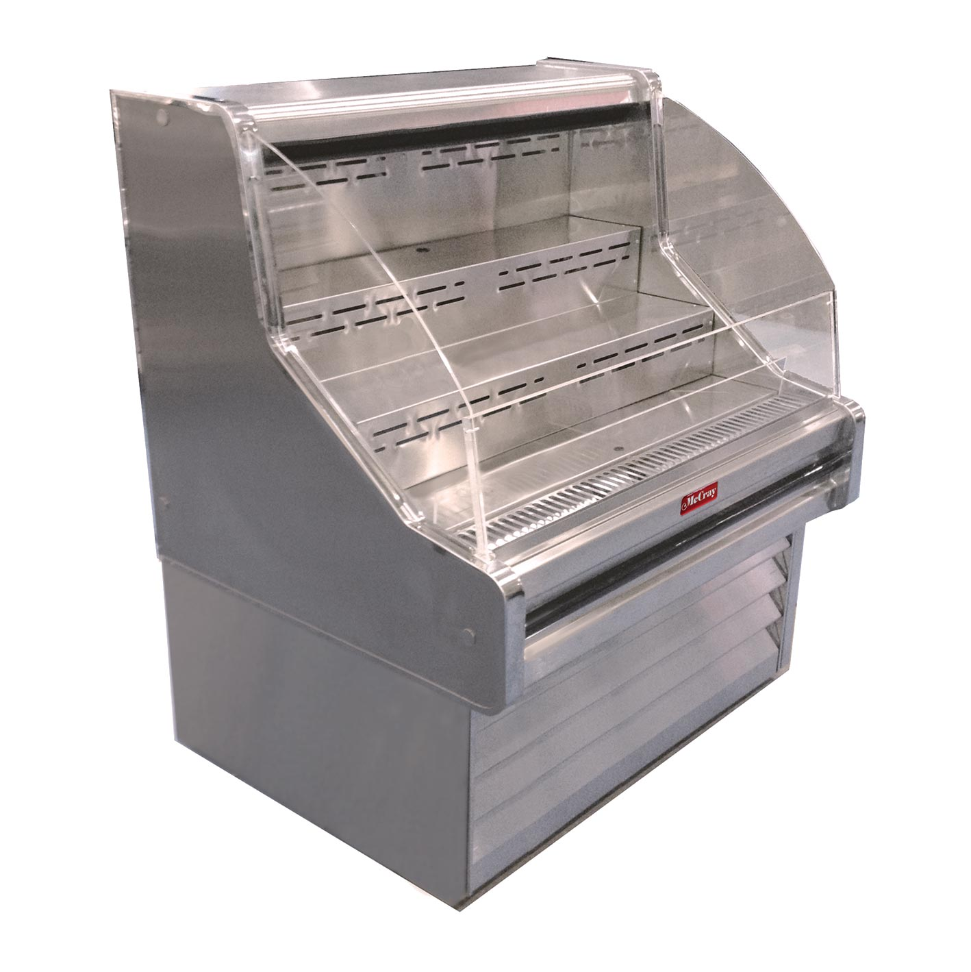 Howard-McCray SC-OS35E-5C-S merchandiser, open refrigerated display