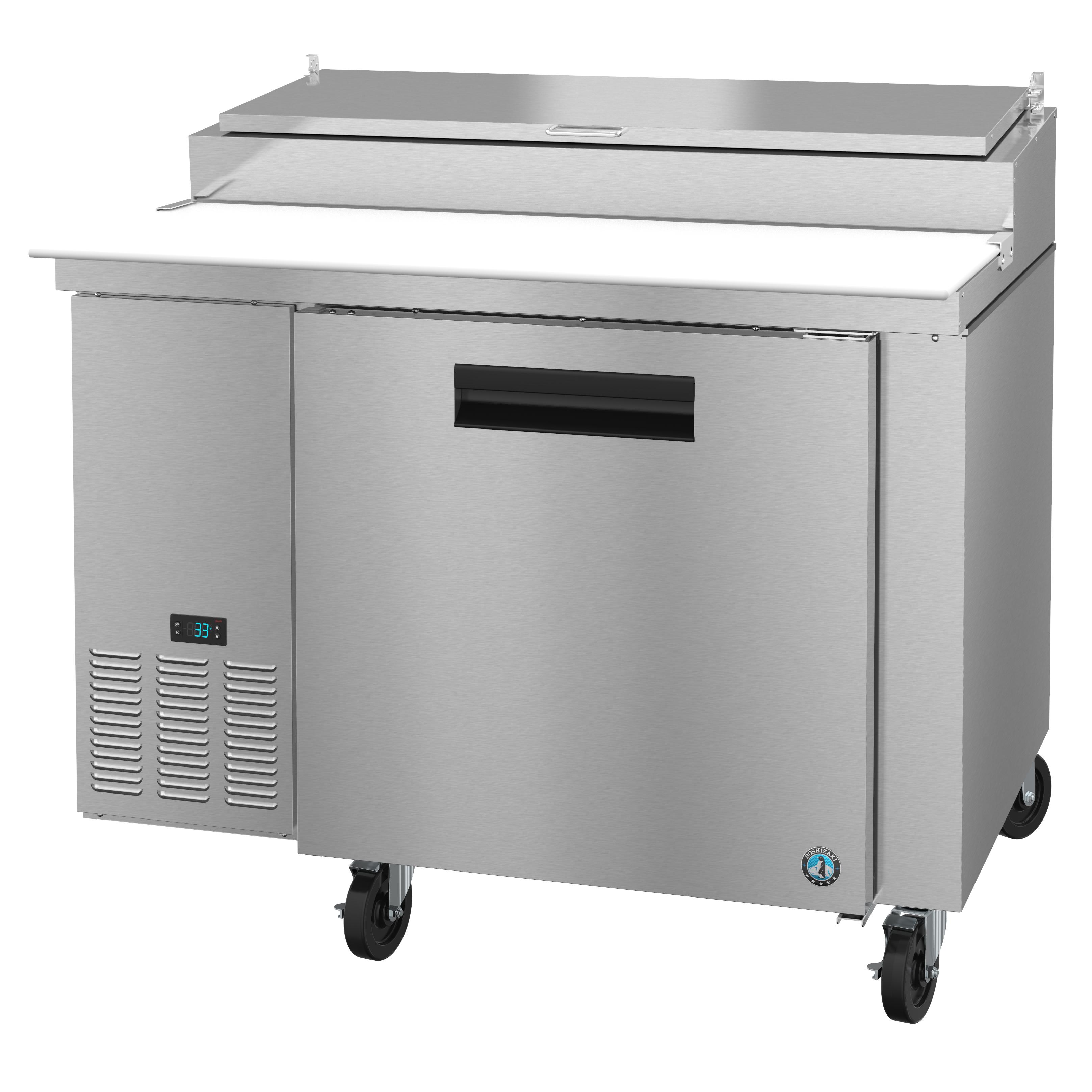 Hoshizaki PR46A refrigerated counter, pizza prep table