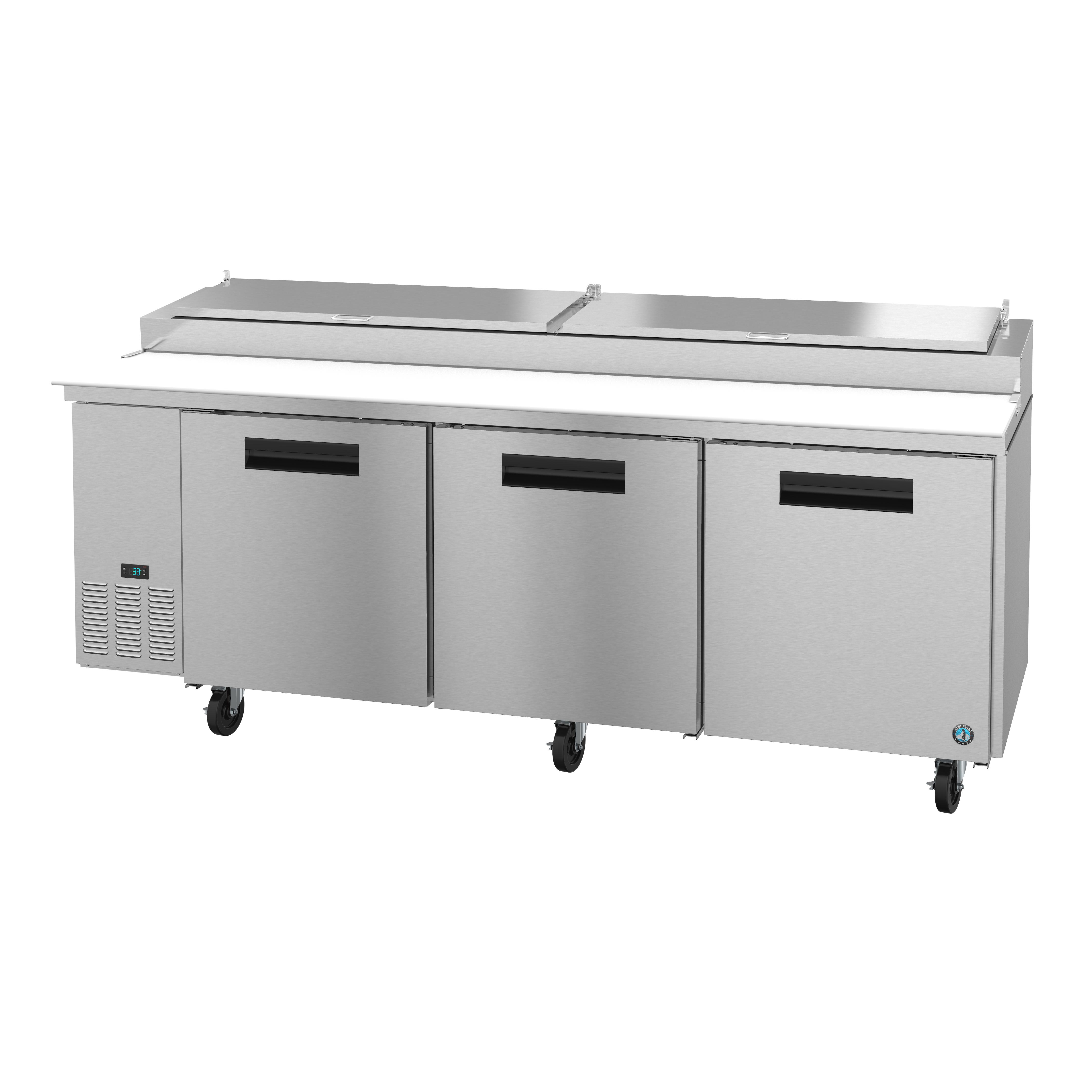 Hoshizaki PR93A refrigerated counter, pizza prep table