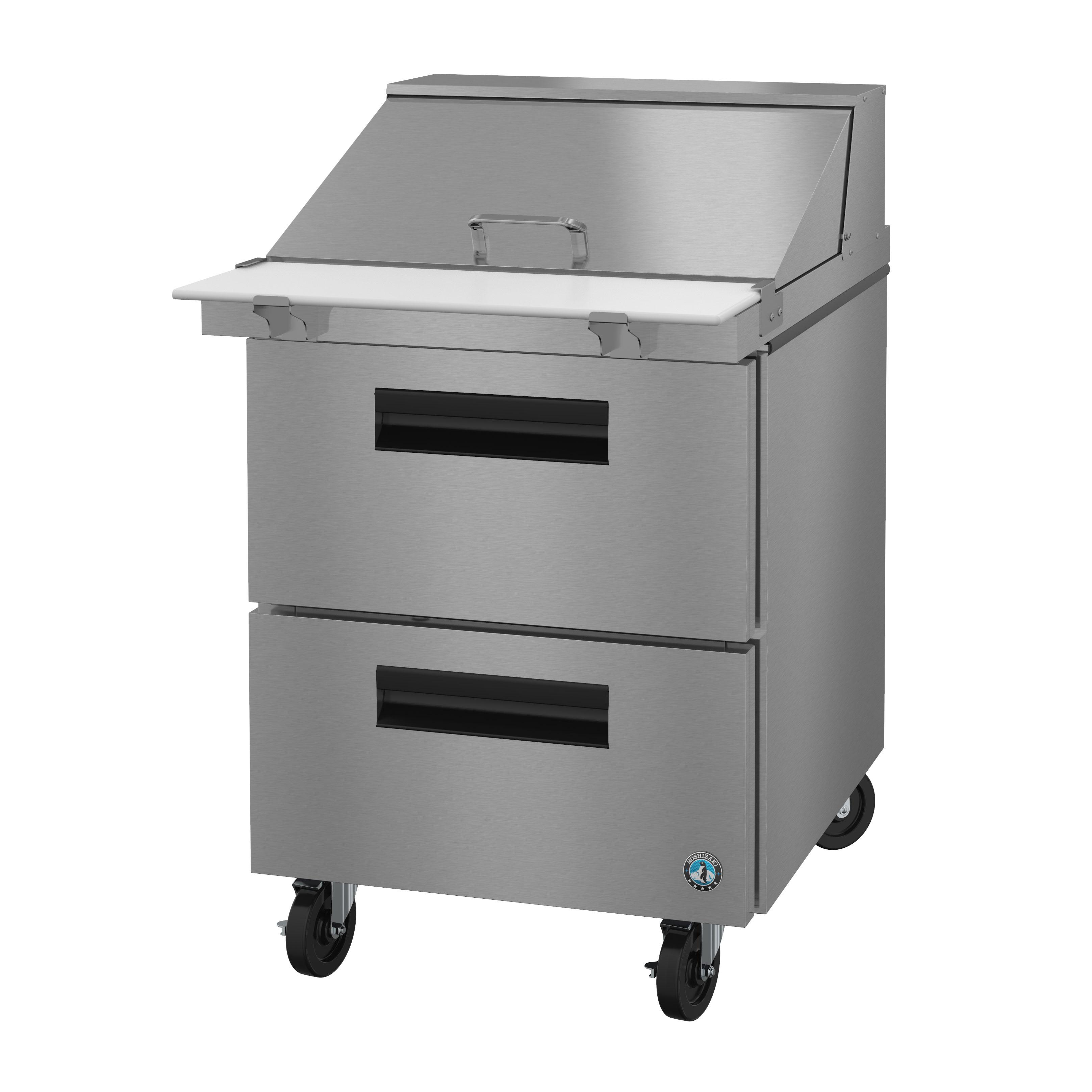 Hoshizaki SR27A-12MD2 refrigerated counter, mega top sandwich / salad unit