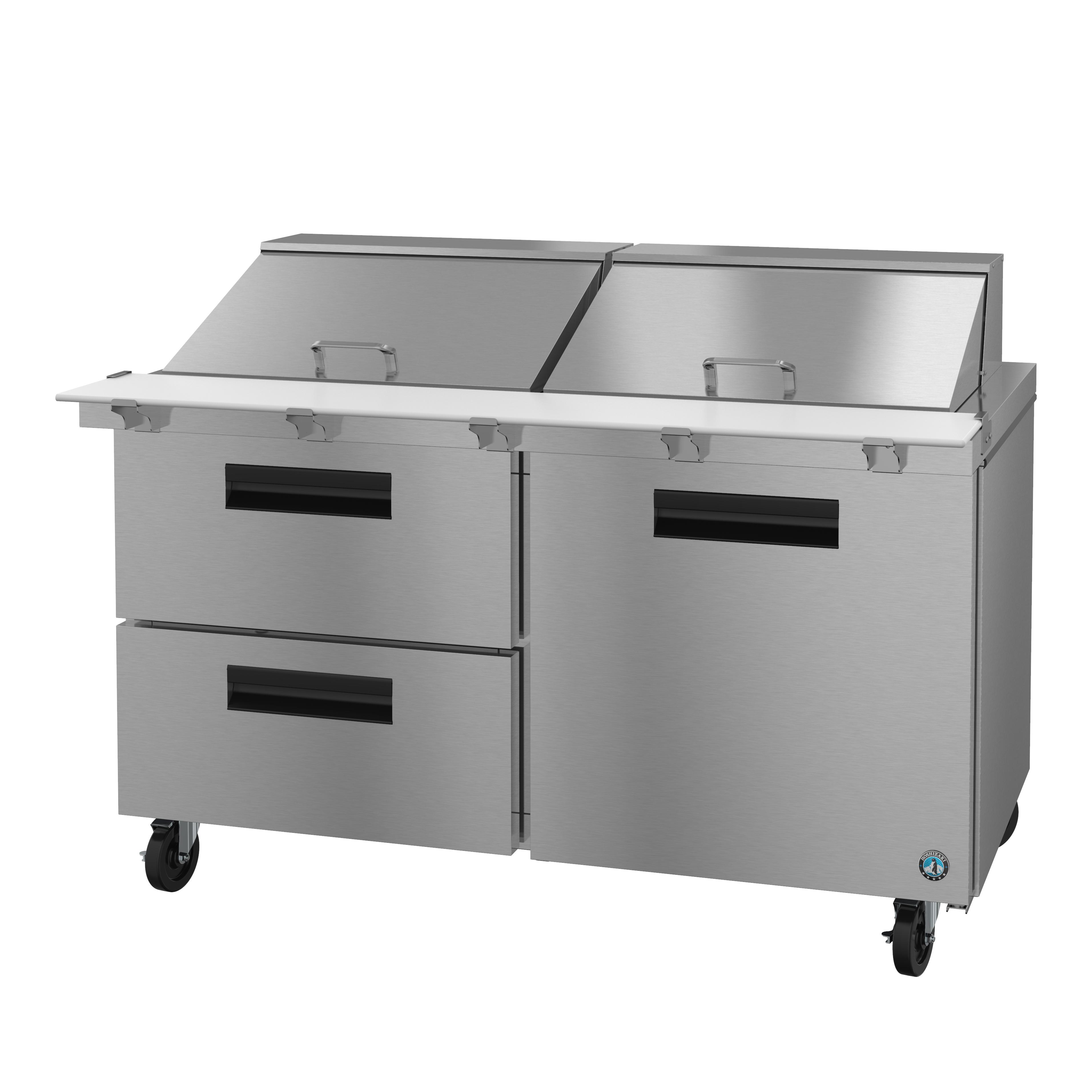 Hoshizaki SR60A-24MD2 refrigerated counter, mega top sandwich / salad unit