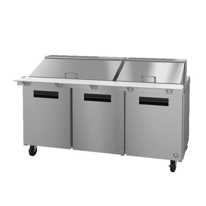 Hoshizaki SR72A-30M refrigerated counter, mega top sandwich / salad unit