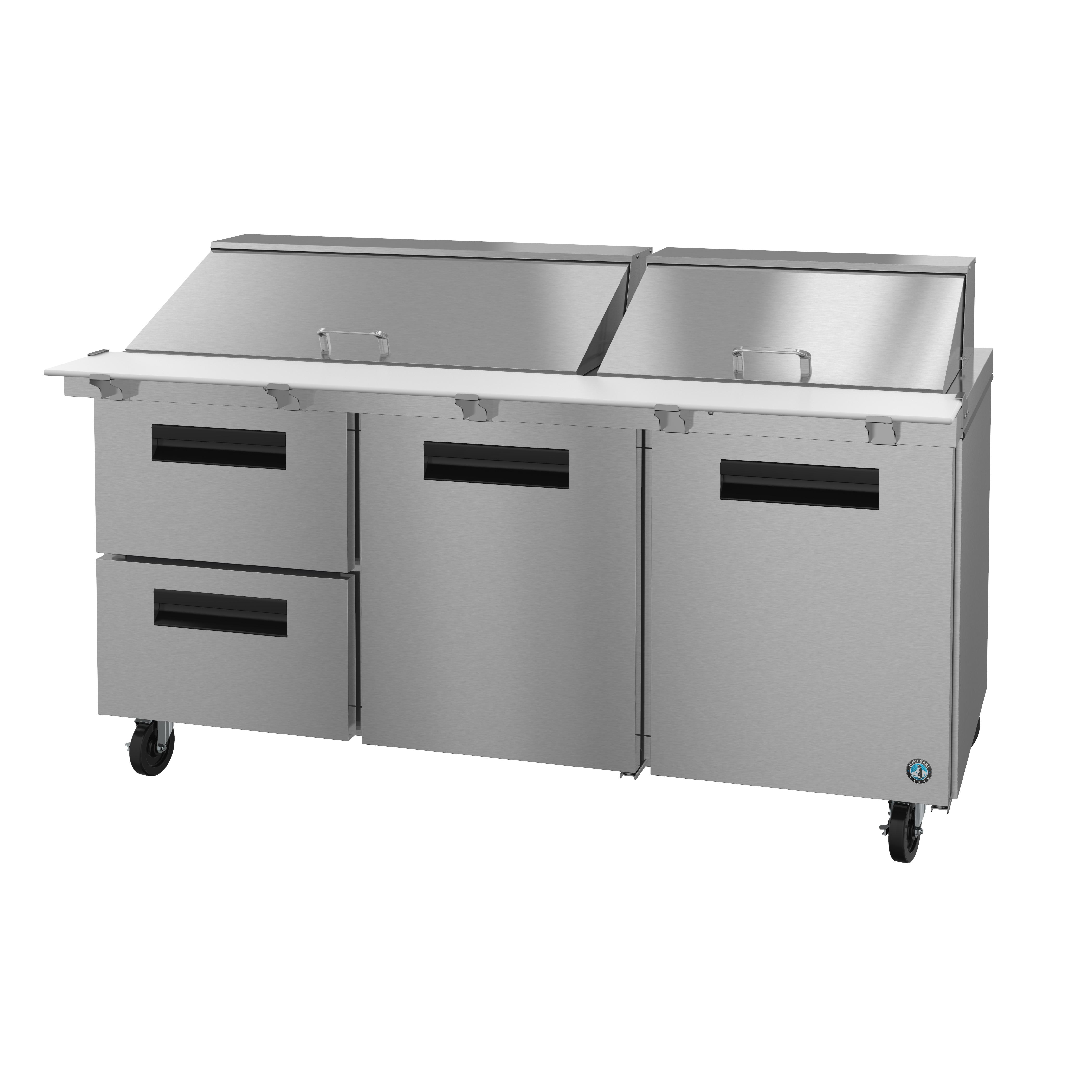 Hoshizaki SR72A-30MD2 refrigerated counter, mega top sandwich / salad unit