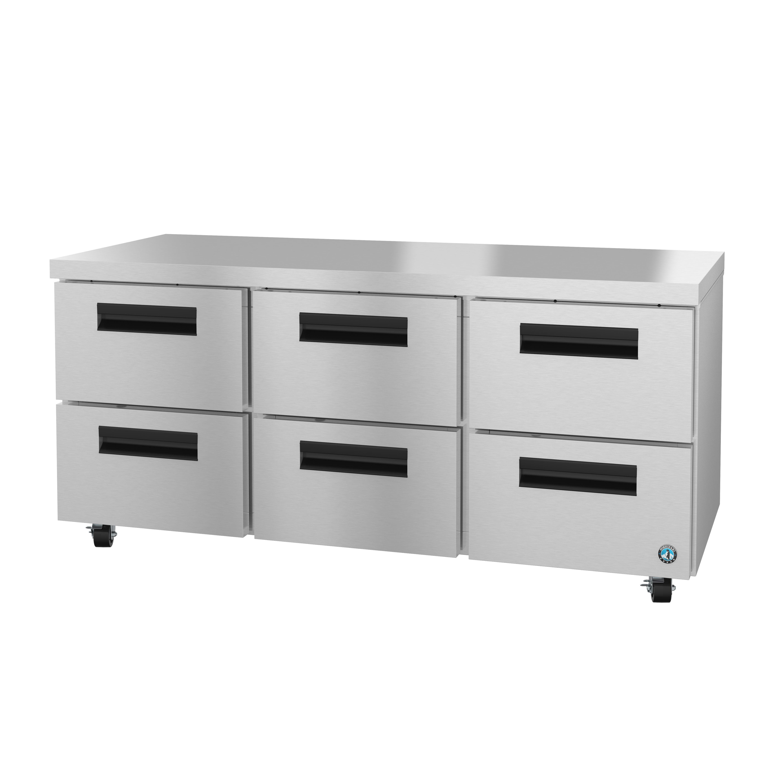 Hoshizaki UR72A-D6 refrigerator, undercounter, reach-in
