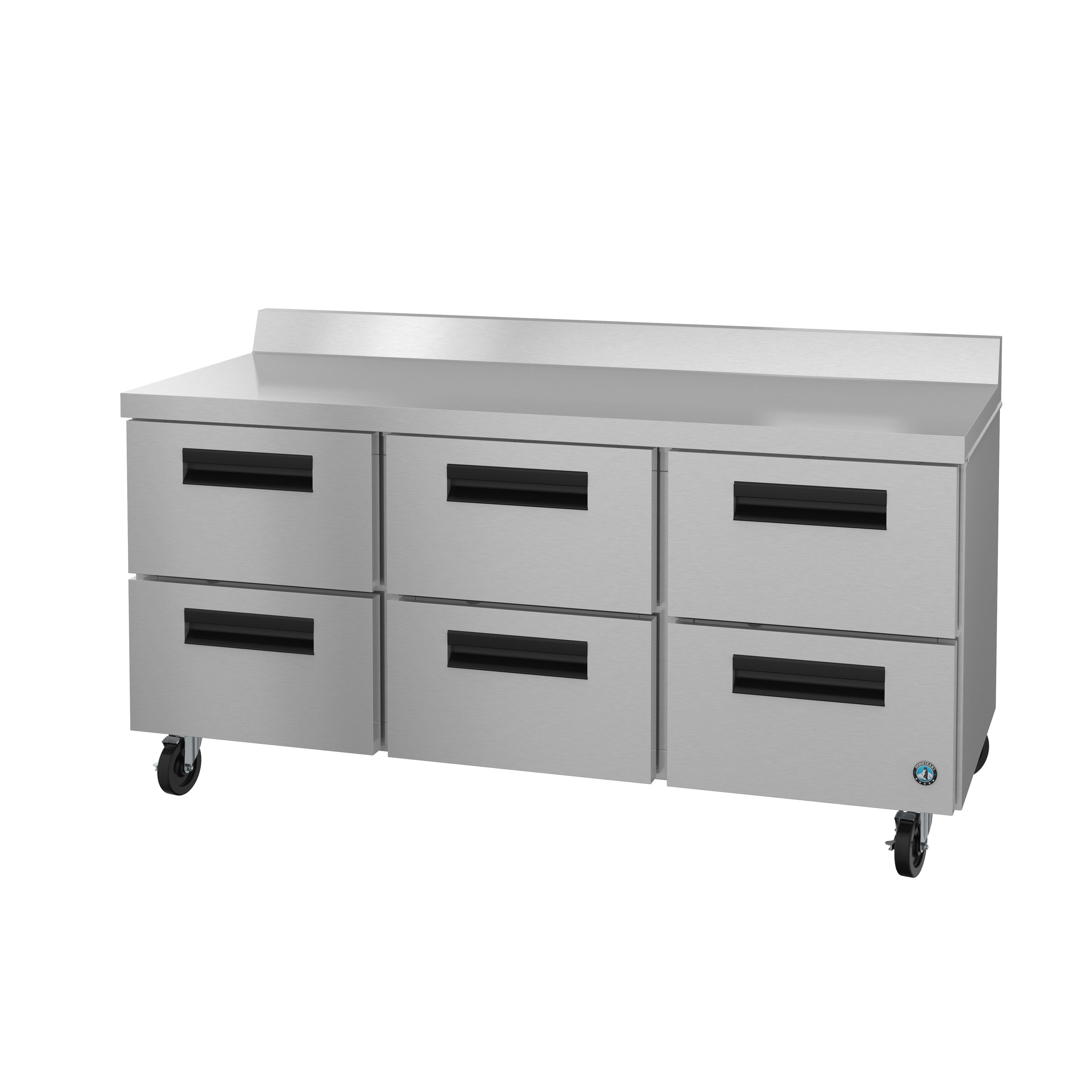 Hoshizaki WR72A-D6 refrigerated counter, work top