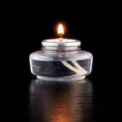 Hollowick HD12-144 candle, liquid wax
