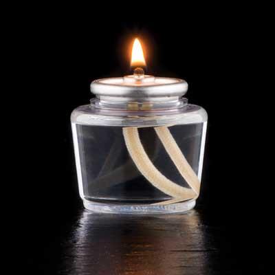 Hollowick HD15 candle, liquid wax