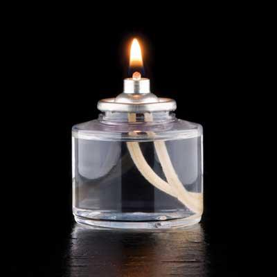 Hollowick HD17 candle, liquid wax