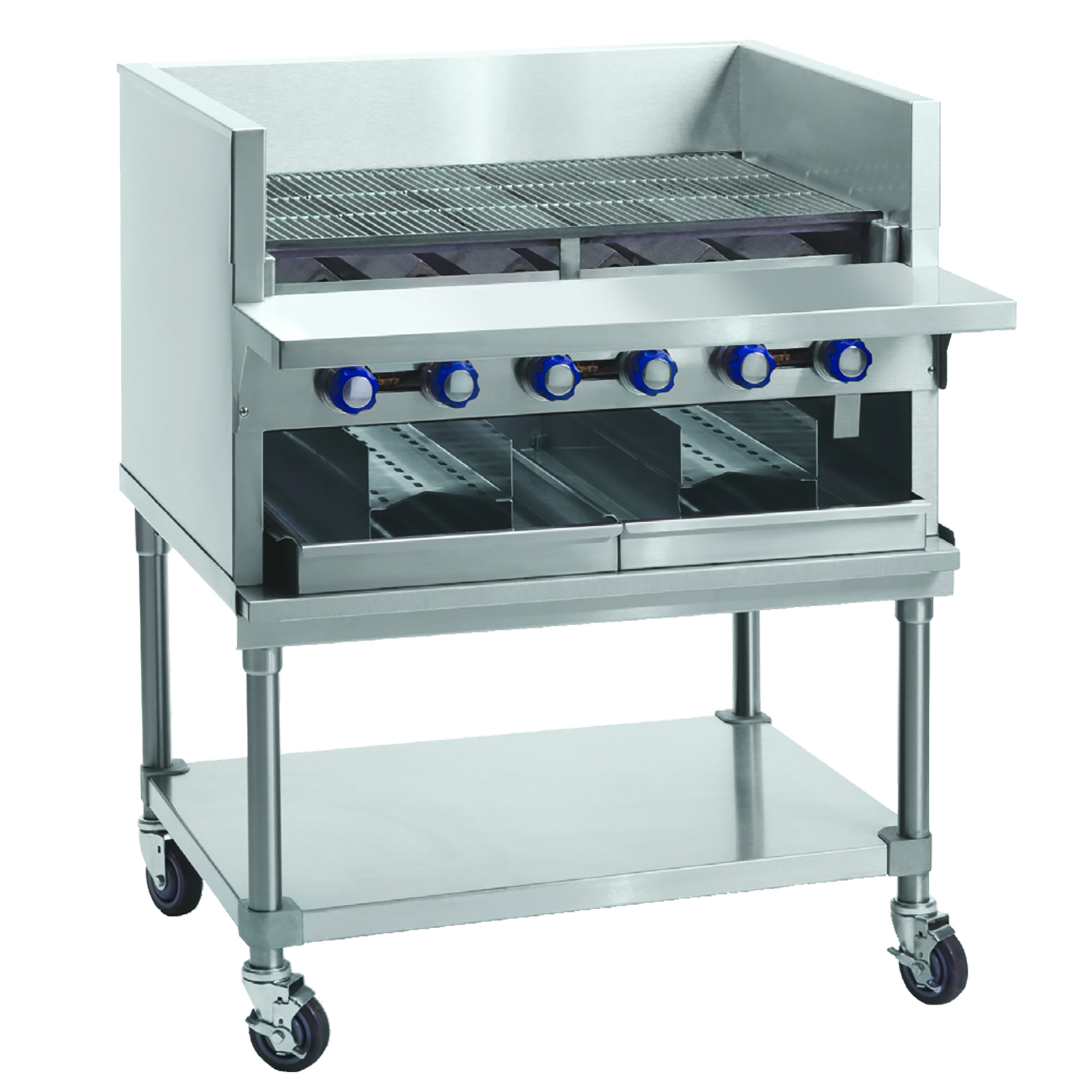 Imperial IABA-48 charbroiler, gas, countertop