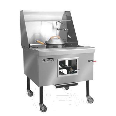 Imperial ICRA-4 range, wok, gas