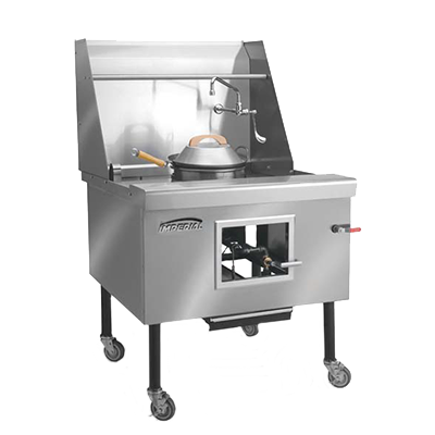 Imperial ICRA-6 range, wok, gas