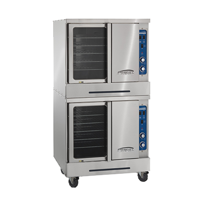 Imperial ICVDE-2 convection oven, electric