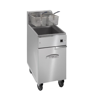 Imperial IFS-40-E fryer, electric, floor model, full pot