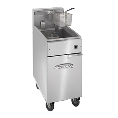 Imperial IFS-40-EU fryer, electric, floor model, full pot