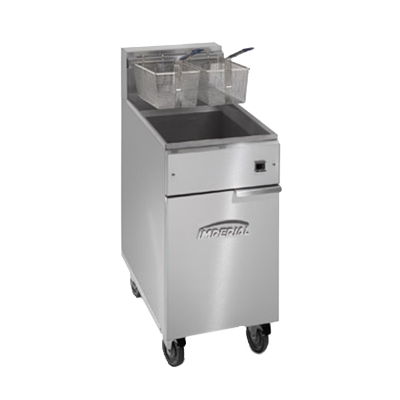 Imperial IFS-50-E fryer, electric, floor model, full pot