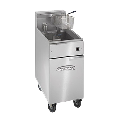 Imperial IFS-50-EU fryer, electric, floor model, full pot