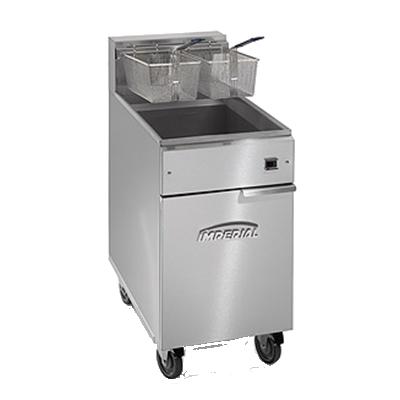 Imperial IFS-75-E fryer, electric, floor model, full pot