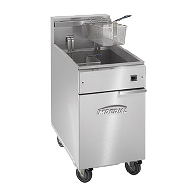 Imperial IFS-75-EU fryer, electric, floor model, full pot