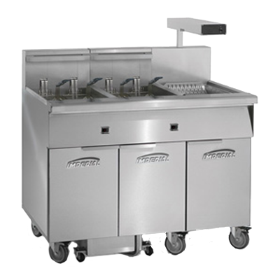 Imperial IFSCB250ET fryer, electric, multiple battery