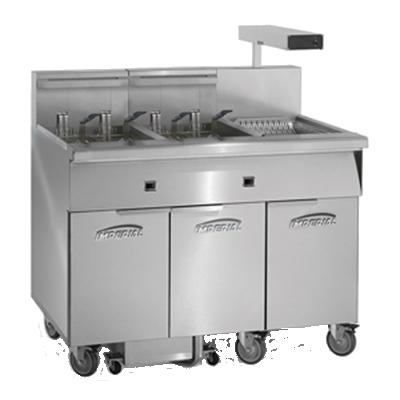 Imperial IFSCB350EC fryer, electric, multiple battery