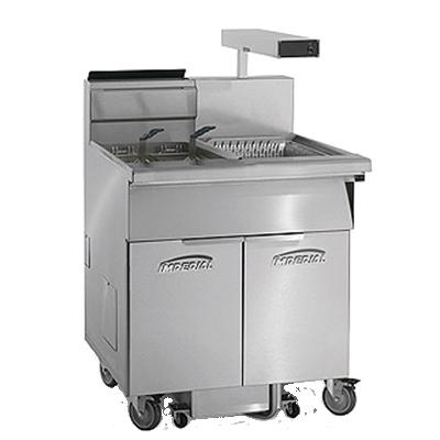 Imperial IFSCB550-OP fryer, gas, multiple battery