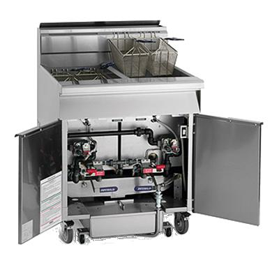 Imperial IFSSP450-OP fryer, gas, multiple battery
