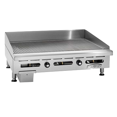 Imperial IGG-36 griddle, gas, countertop