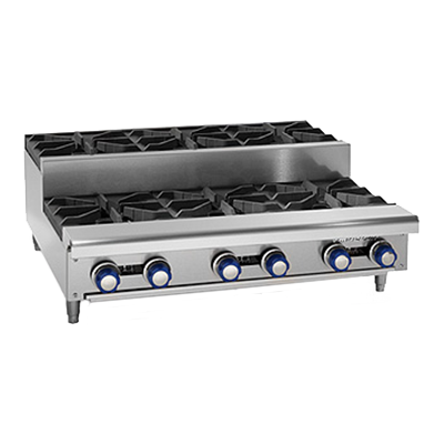 Imperial IHPA-2-12SU hotplate, countertop, gas