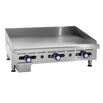 Imperial IMGA-4828-OB-2 griddle / hotplate, gas, countertop