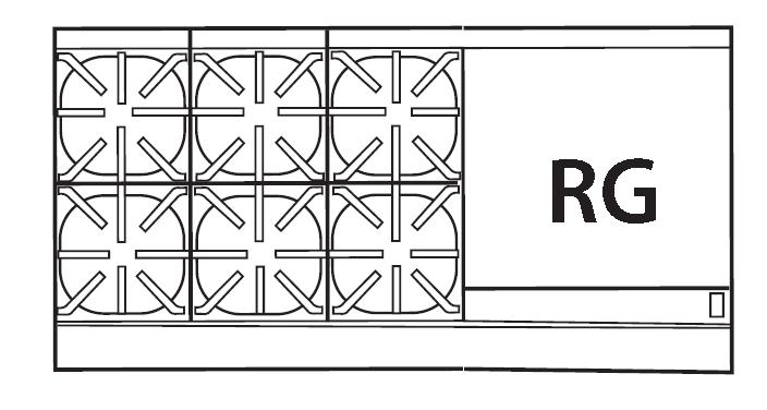 Imperial IR-6-RG24-CC range, 60