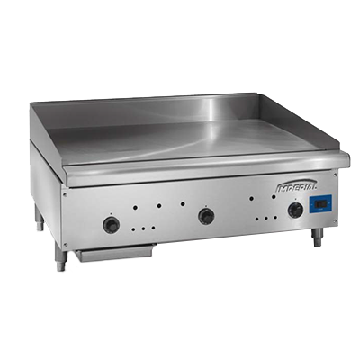 Imperial ISCE-36 griddle, gas, countertop