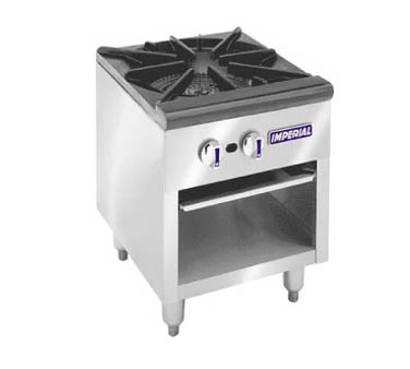 Imperial ISPA-18-2 range, stock pot, gas