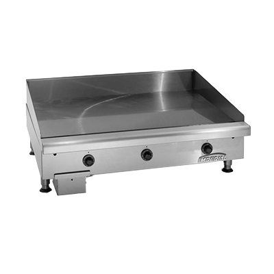 Imperial ITG-36-E griddle, electric, countertop