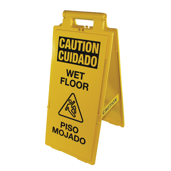 Impact Products 24106 sign, wet floor